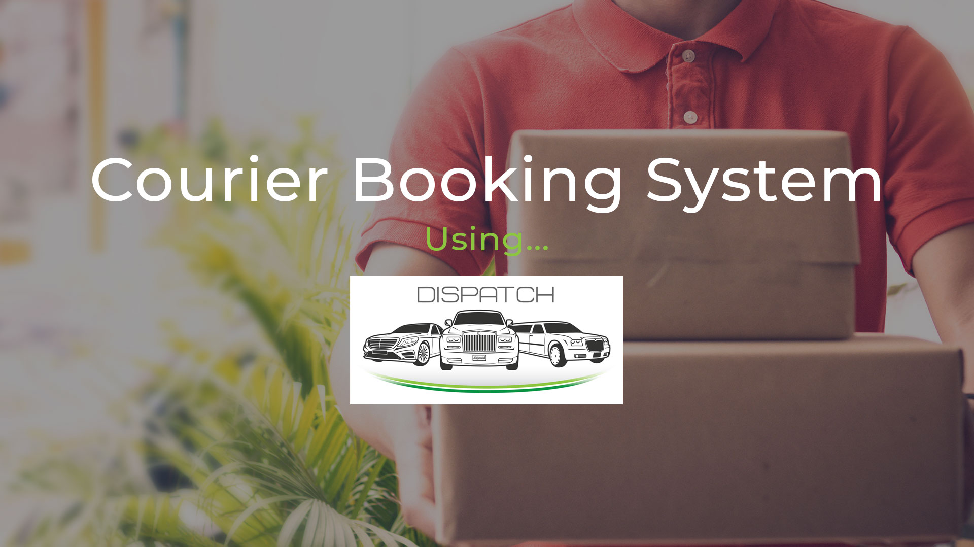 A Courier Booking System that Delivers the Goods