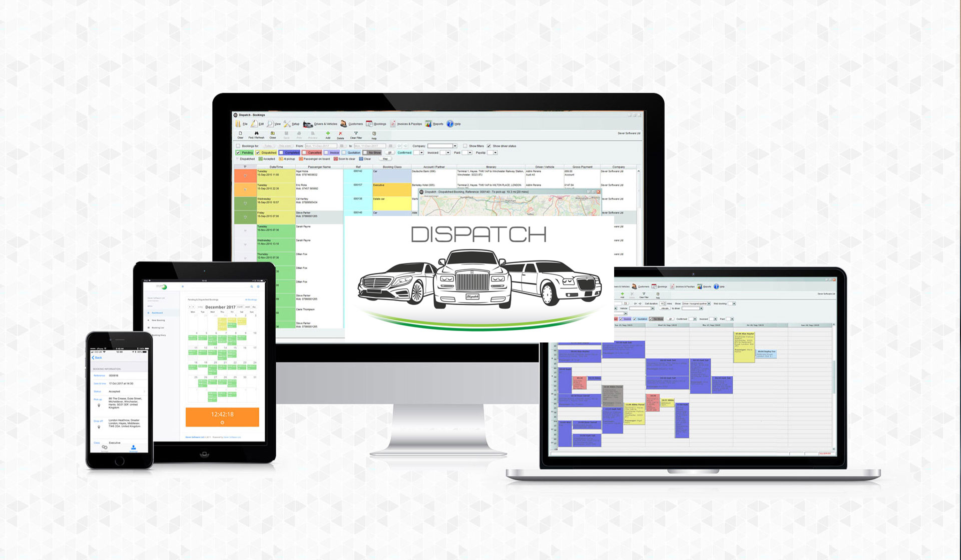 Manage multiple bookings linked to an event with Dispatch Booking Management Software